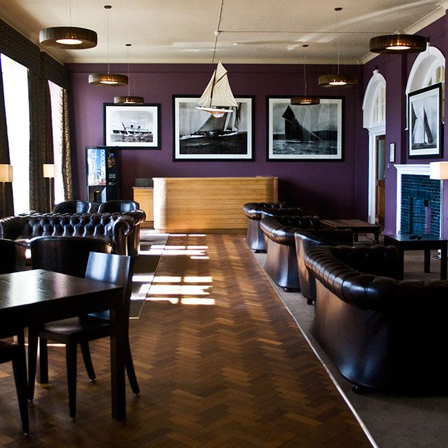 Nautical Themed Lounge Area, Britannia Naval College