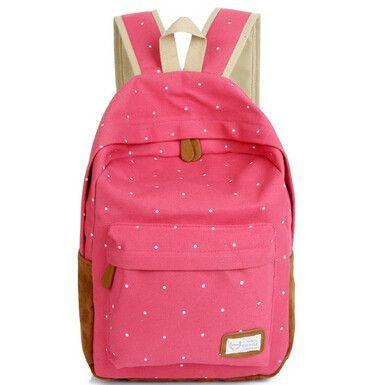 Fashion Brand Women Canvas Backpack Mochila Feminina Female Travel school bag for teenagers Backpacks shoulder bolsa bag MJ023