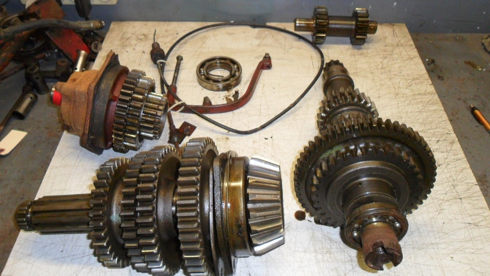 medium resolution of ih farmall international farmall m tractor m w 9 speed transmission farmall m transmission diagram at farmall
