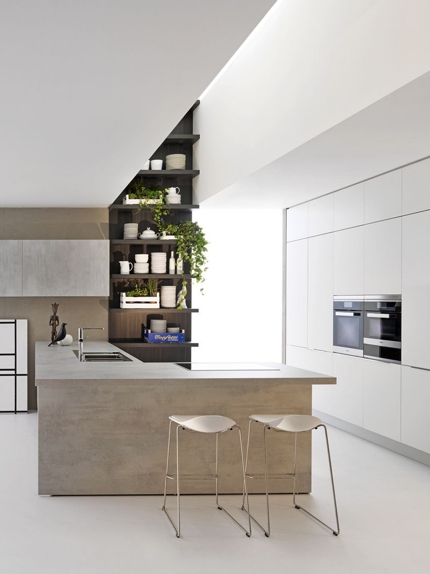 Cucina In Dada Cucine Con Penisola 室內設計 Kitchen Design Kitchen Home Decor