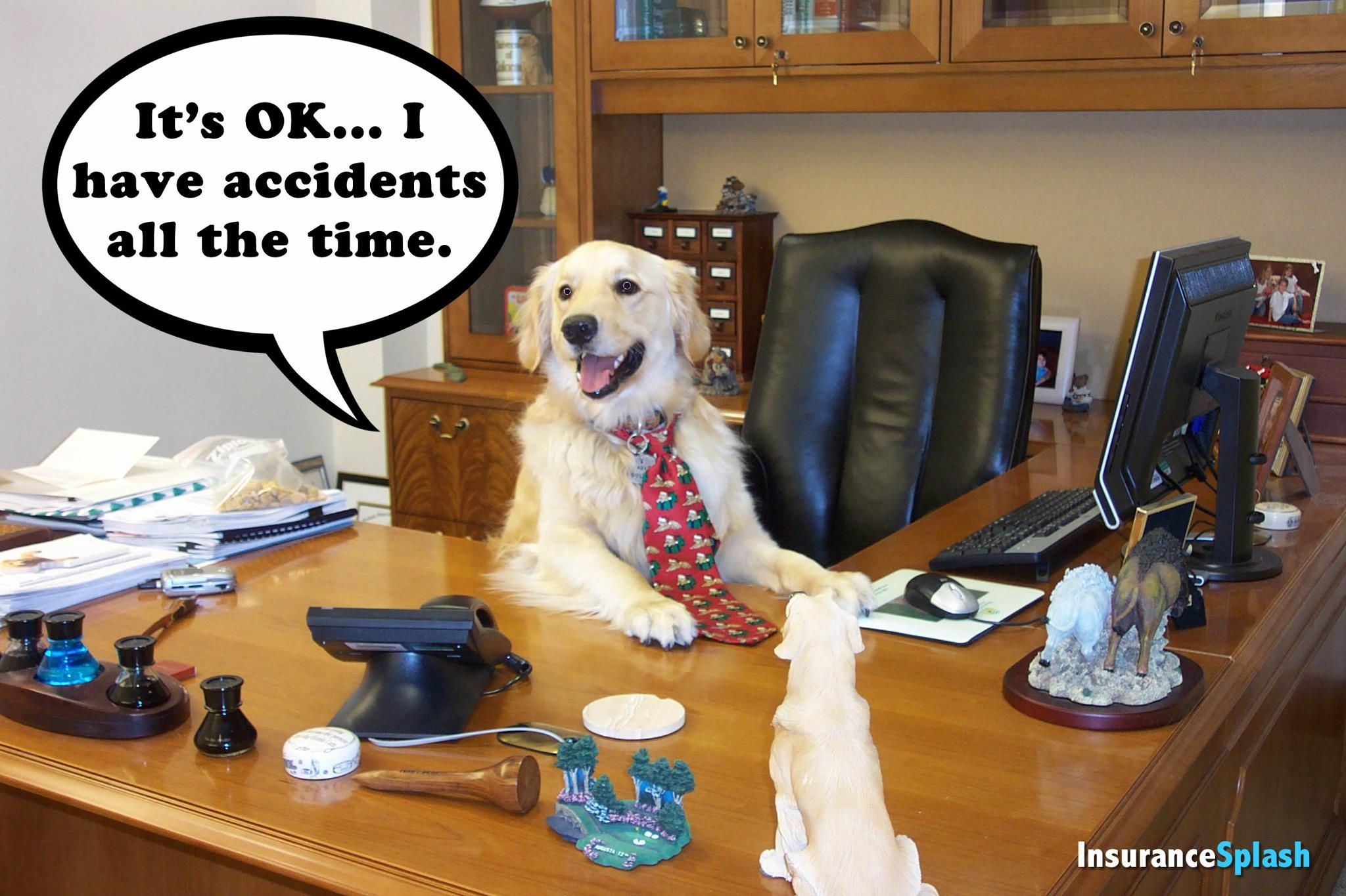 Insurance agents are human too and we may have claims of