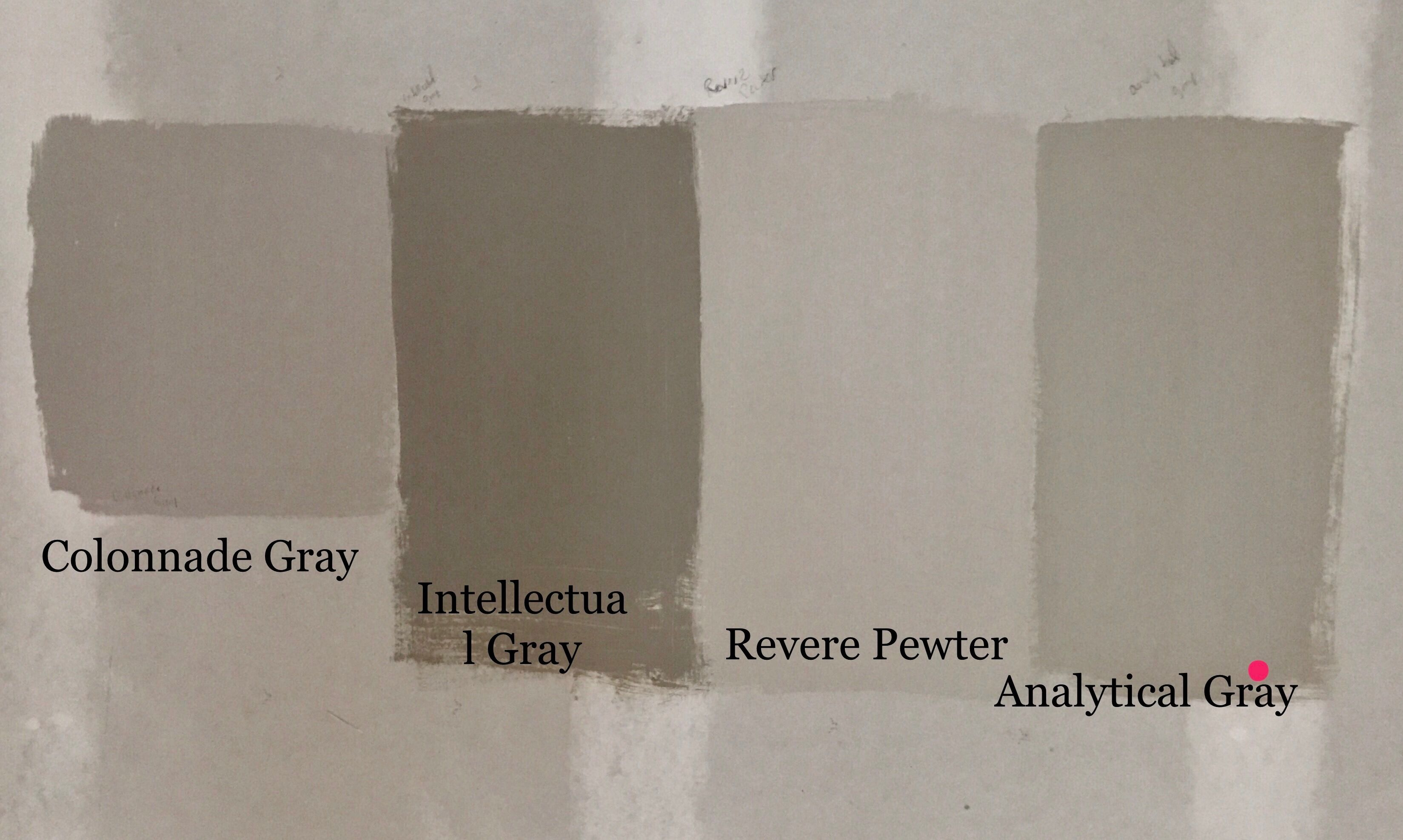 Sw Colonnade Gray Intellectual Gray Revere Pewter Analytical Gray Sherw Sherwin Williams Revere Pewter Sherwin Williams Gray Exterior Paint Colors For House
