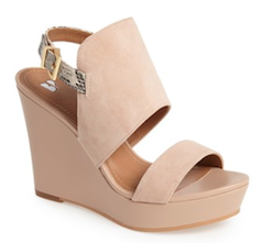 Photo of Suede summer wedges – Brown