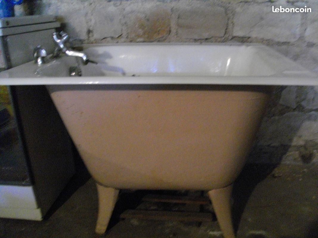 baignoire sabot en fonte baignoire