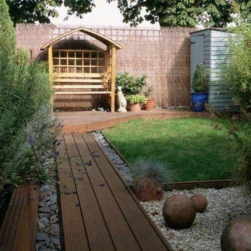 Gartengestaltung mit holz  17 Tipps für Holz Boden Belag im Garten oder auf der Terrasse ...