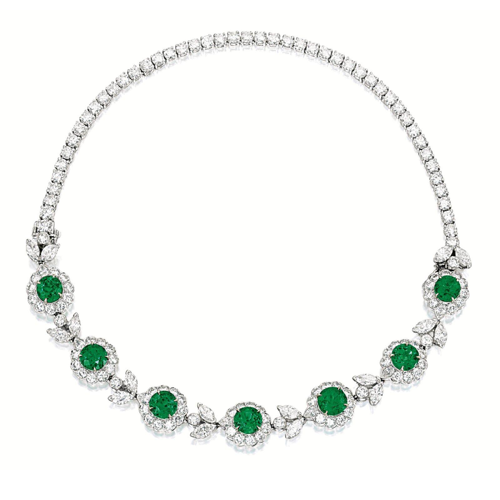 Marie poutineus jewels u royals elegant green necklaces iii