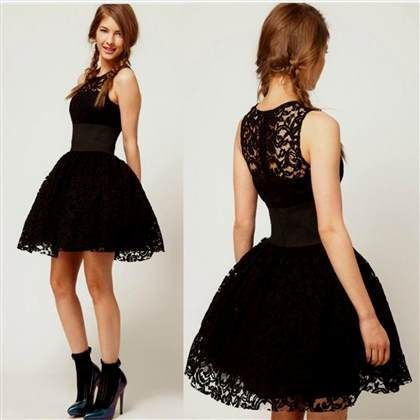 Awesome Black Graduation Dresses For 8th Grade 2017 2018 Grad
