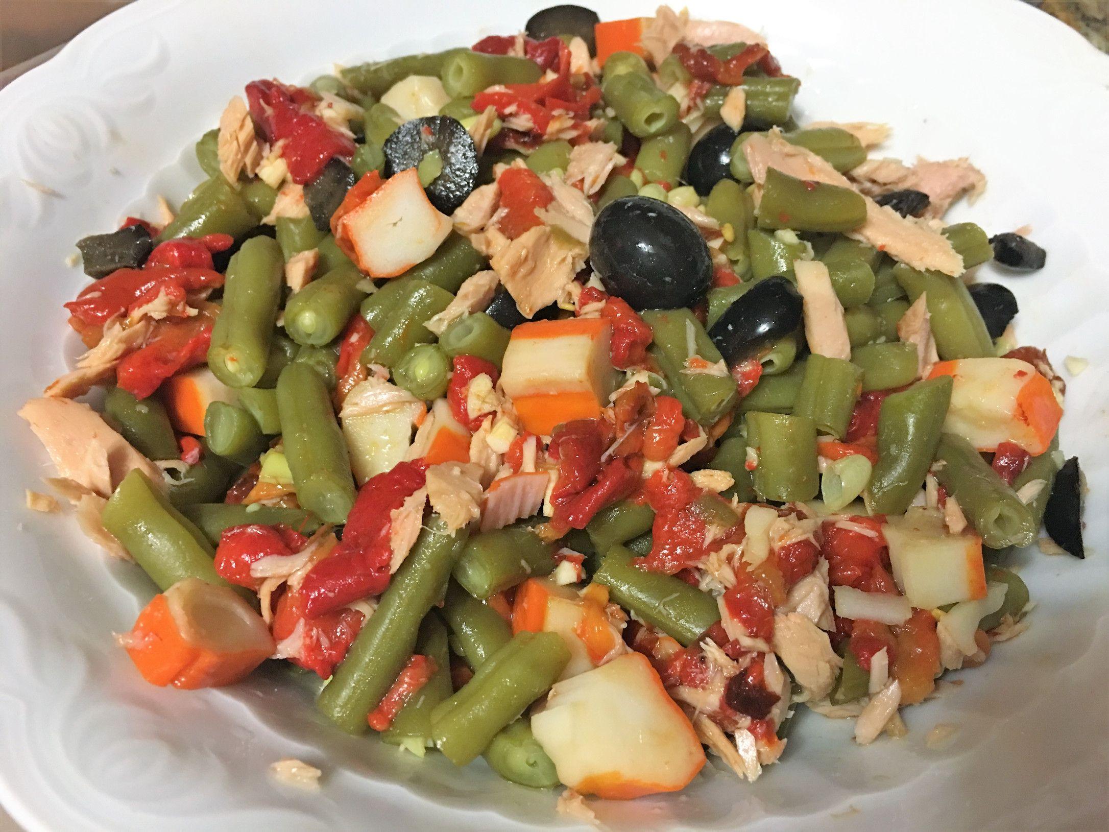 Ensalada De Judías Verdes Ensalada De Judias Verdes Comida Saludable Ensaladas Comida Light Recetas