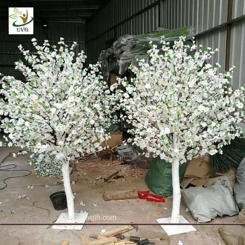 Buy Wedding Decoration Artificial Blossom Table Centerpieces Tree For Sale On Www Uv Peach Blossom Tree Artificial Cherry Blossom Tree Wedding Hall Decorations