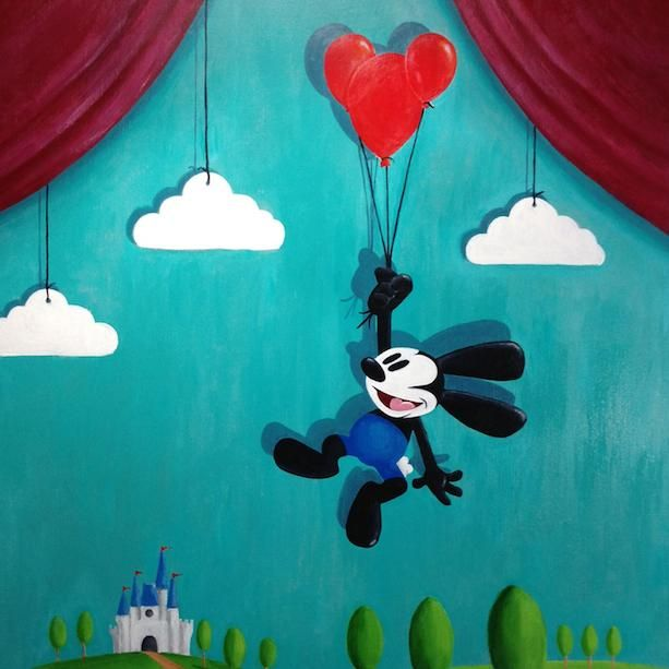 On this day in #DisneyHistory, Oswald the Lucky Rabbit made his on-screen debut in 1927: http://bit.ly/1JTuxmA