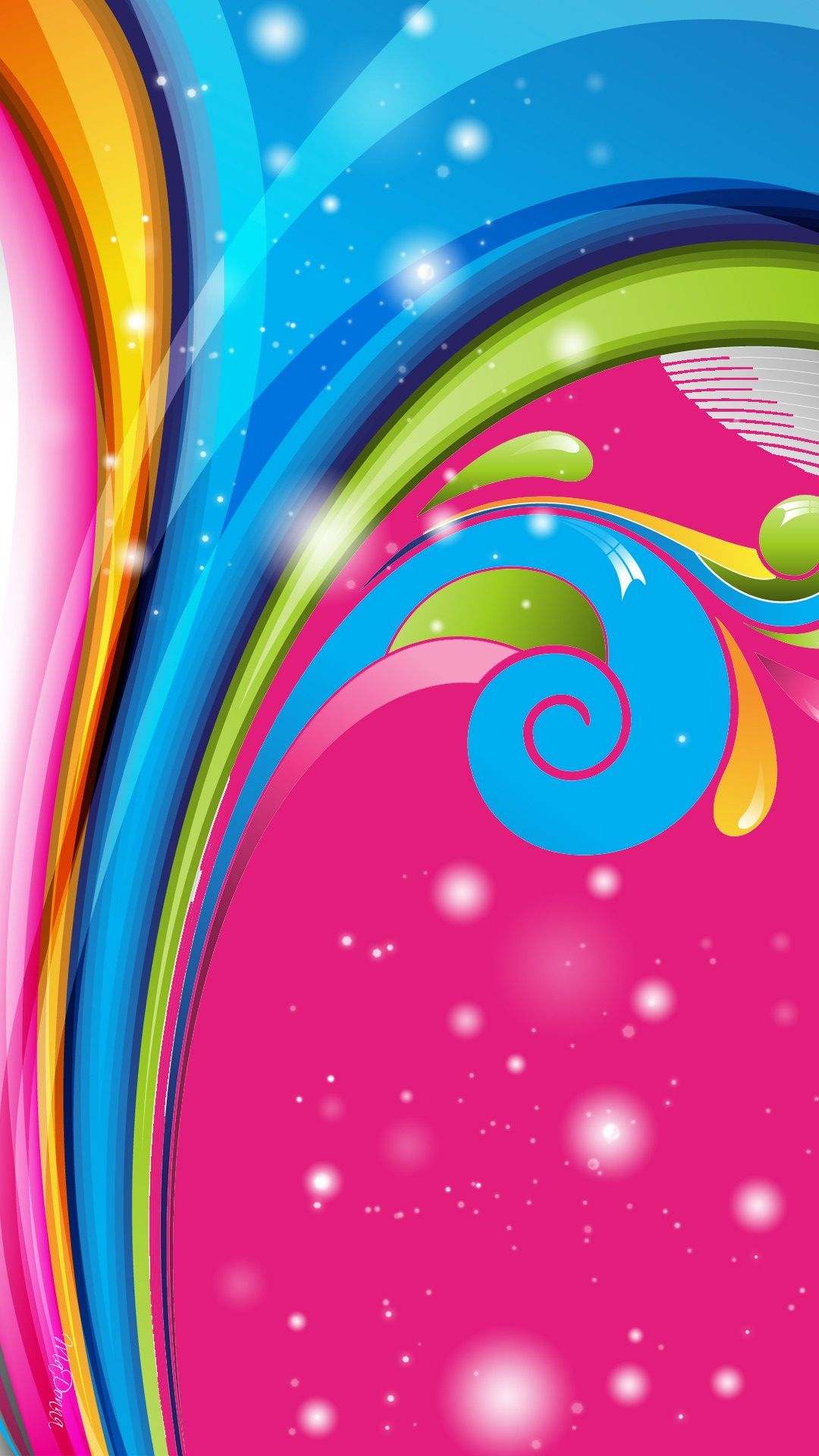 Cute Colorful Girly Wallpaper Background Pastel Background Wallpapers Wallpaper Backgrounds Geometric Wallpaper Android