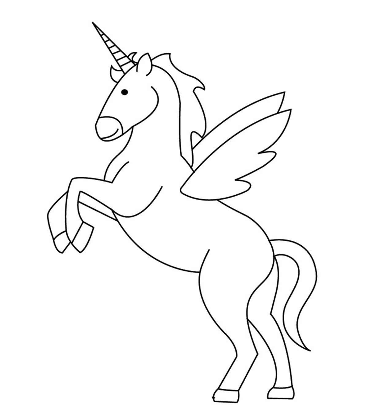 Cute Unicorn Face Coloring Pages in 2020 Unicorn