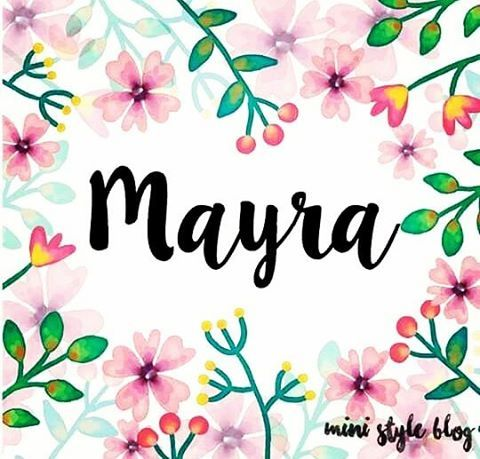 ☺️☺️���� ������ #myname #mayra #meencanta #minombre #mini #style #blog #vogue #happy #saturday #bonitodia http://www.butimag.com/blog/post/1483499037964438763_1796106612/?code=BSWcoPegQzr