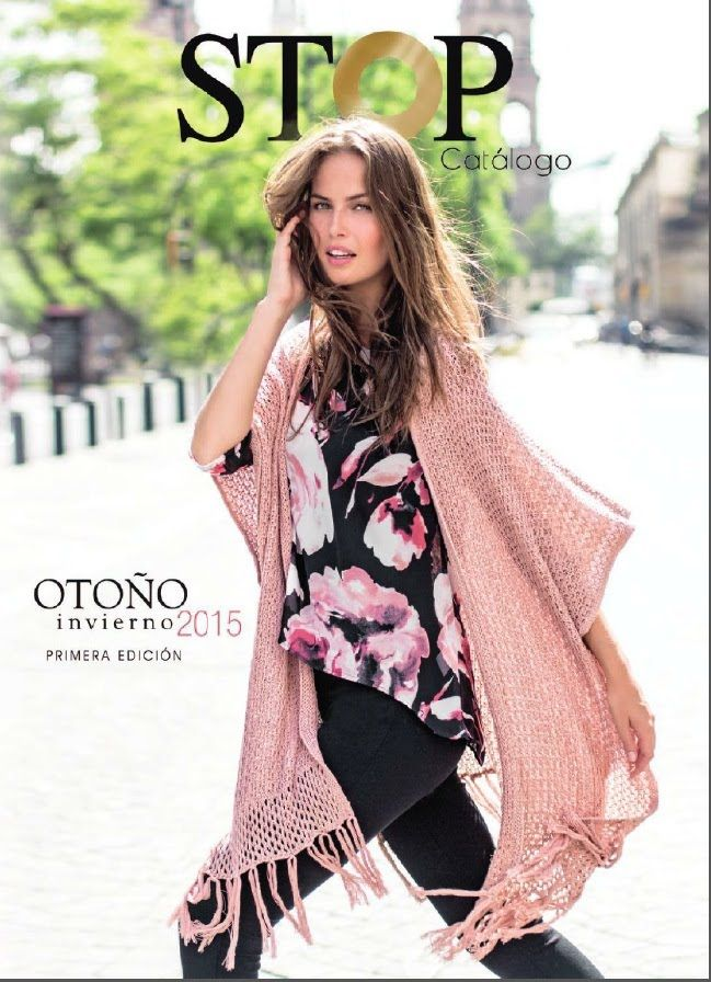 c9bdbfd491 catalogo stop otoño invierno 2015 mujer ropa dama primera edicion de ...