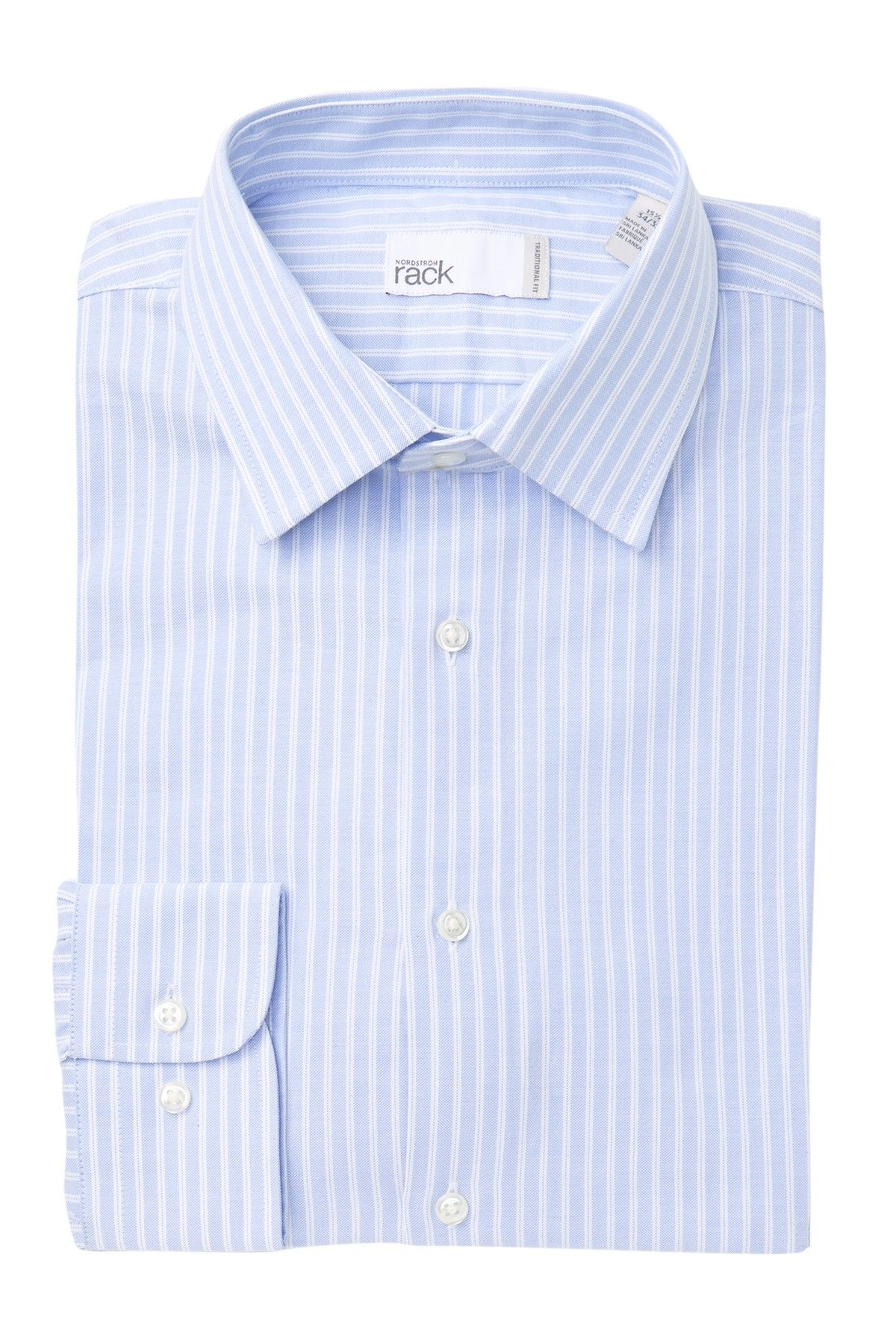 Striped Traditional Fit Dress Shirt #nordstromrack