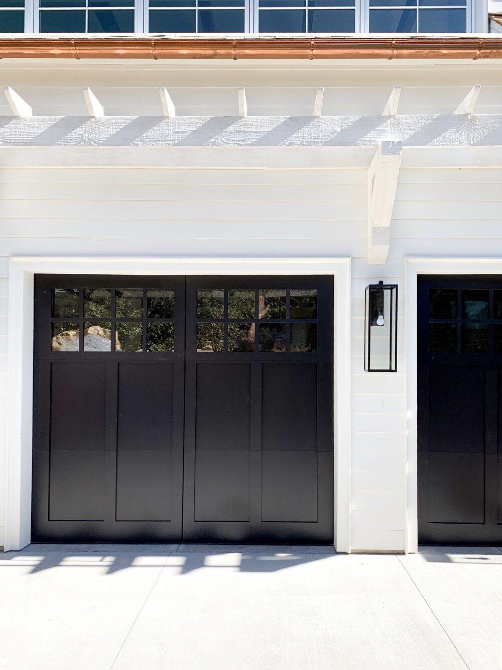 Transitional Timeless Home Exterior Inspiration Garage Door