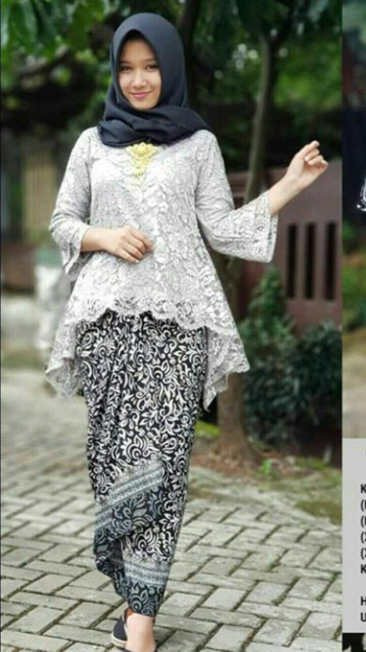 Kebaya wisuda  Model pakaian hijab, Model pakaian baru, Pakaian