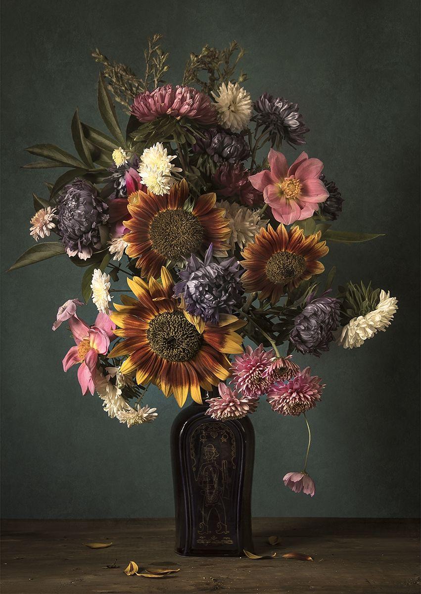 Pin Op Blumen