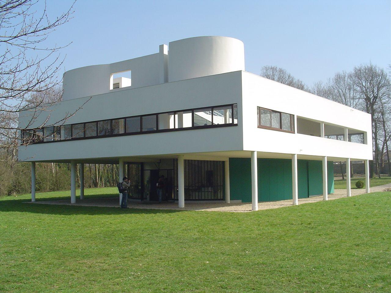 Villa Savoye Le Corbusier | Design Classics | Pinterest | Le ...