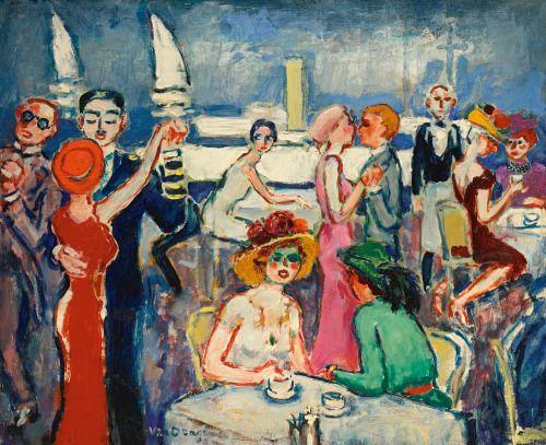 Kees van Dongen Deauville 'Joie de vivre' c.1922Oil... (ALONGTIMEALONE)