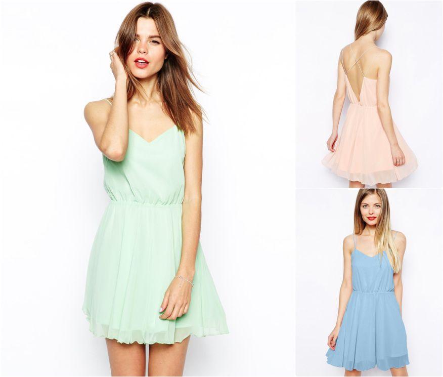 Des robes pastel - Pastel dresses (great for bridesmaids!) -