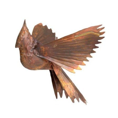 Amazon.com : Ancient Graffiti Hanging Flamed Copper Cardinal Outdoor Decor  : Patio, Lawn. Outdoor DecorGarden ArtHome ...