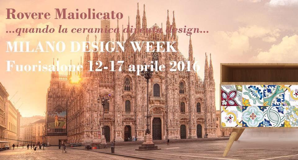 Rovere Maiolicato…quando la #ceramica diventa design. Waiting for Design Week  12 / 17 Aprile 2016 @vietridesign