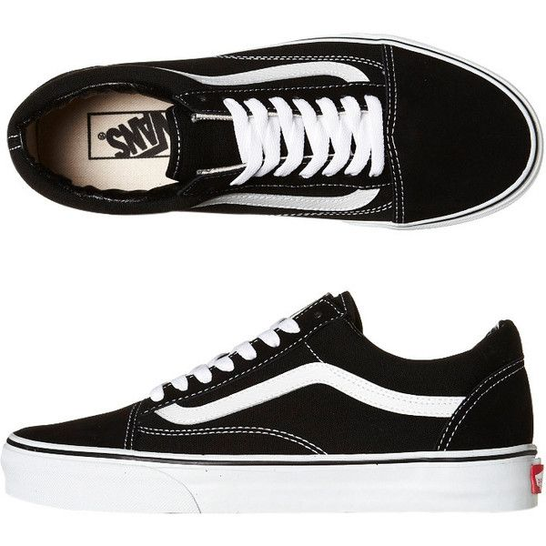 1e01fac2fb63 Vans Womens Old Skool Shoe (£60) ❤ liked on Polyvore featuring shoes