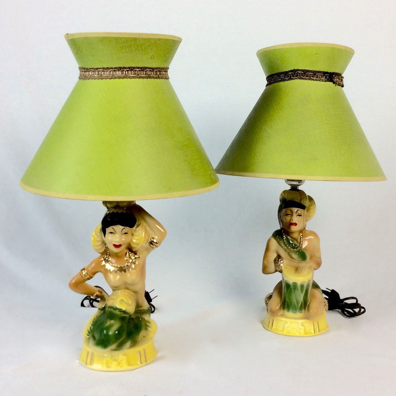Vintage 1950s hawaiian lamps and lampshades hawaiian 1950s and 1940s 1950s hawaiian lamps and shades aloadofball Images