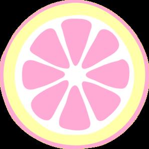 pink lemon slice clip art vector clip art online royalty free rh pinterest com lemon slice clip art free
