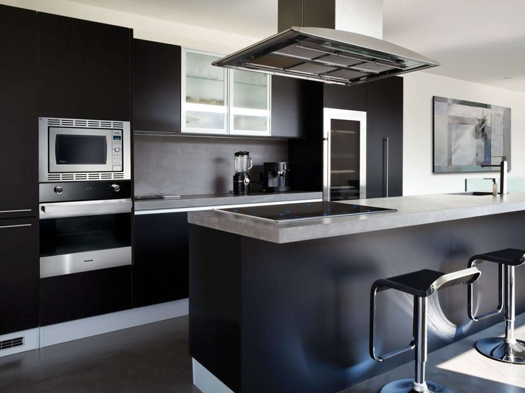 Black kitchen designs u the new trend for a timeless kitchen