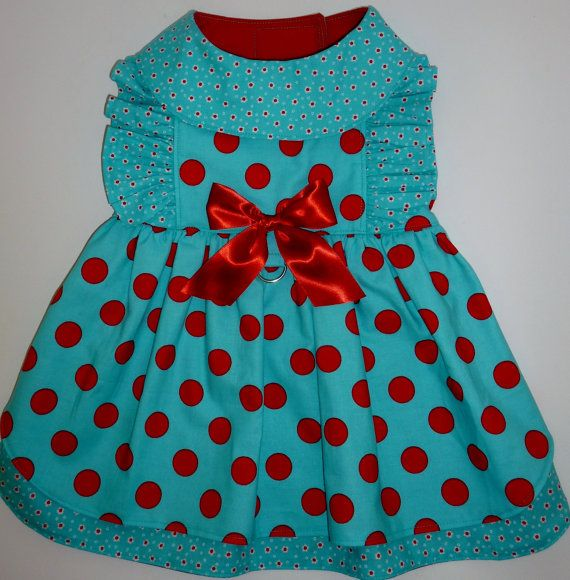 Baby Doll Dog Dress Pattern 1603 * Small & Medium * Dog Clothes ...