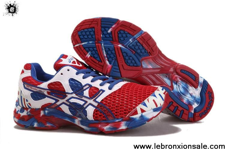 Soldes Asics 7 Gel Noosa Tri 7 Hommes Sport Hommes Rouge 12988 Royal Bleu Blanc 59a6f70 - wisespend.website