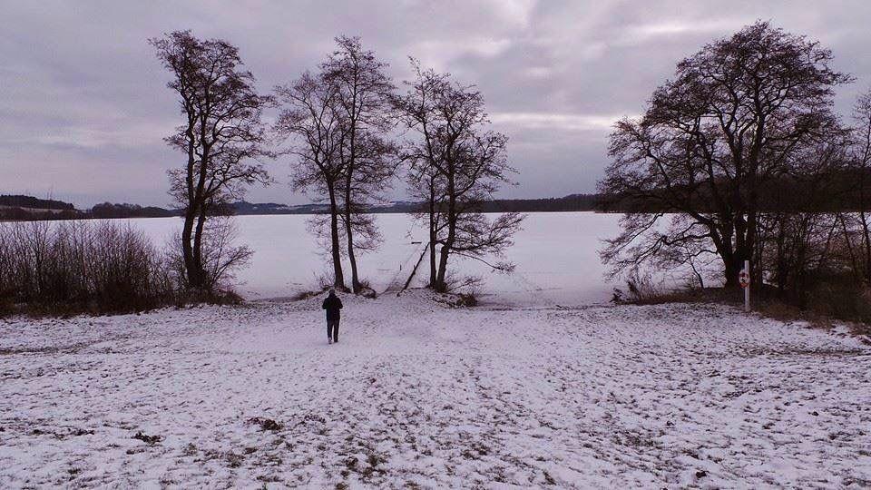 Snow in Denmark