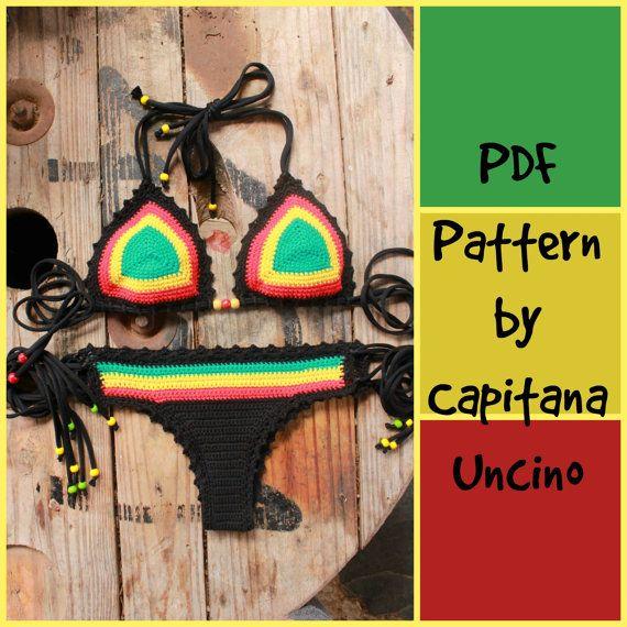 PDF Crochet PATTERN for Rasta Queen Crochet by CapitanaUncino