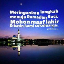Gambar Kata Kata Menyambut Bulan Ramadhan Dengan Gambar Gambar