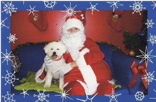 He's got Santa where he wants him