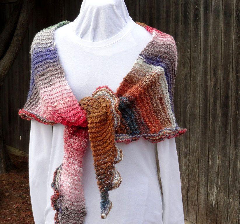 Easy to Knit Shawl Pattern, Knitted Prayer Shawl Patterns, Patterns ...