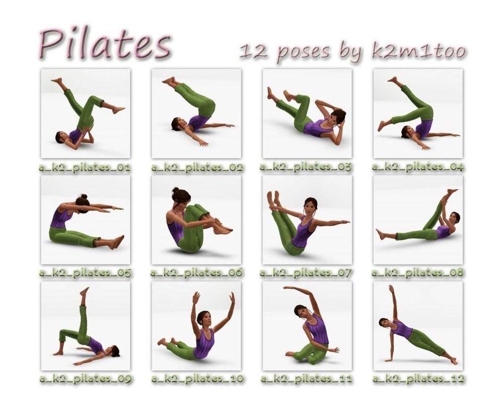 Pix For Pilates Poses Names Pilates Poses Pilates Yoga Positions For Beginners
