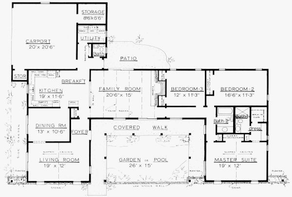 1300 To 1500 Sq Ft House Plans Ranch House Floor Plans Country House Plans Floor Plans Small modern house plans under 1500 sq ft