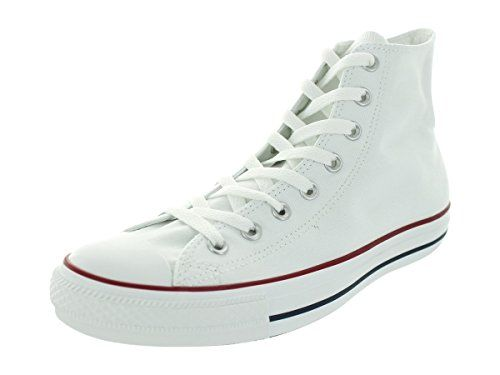 31df1aea3b7 Converse Unisex Chuck Taylor All Star Low Top Optical White Sneakers - 4 D(M)  US