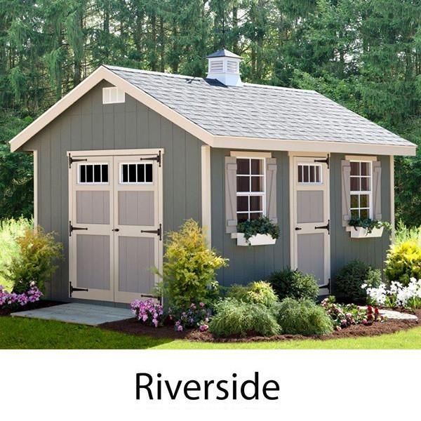 EZ-Fit Sheds Riverside Outdoor Garden Shed Storage Solution