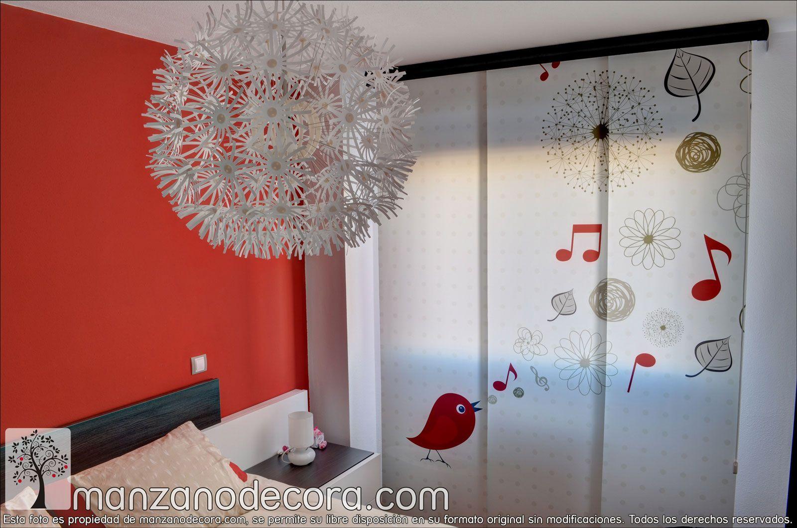 Pin de manzanodecora en paneles japoneses paneles japoneses panel y cortinas - Paneles chinos cortinas ...