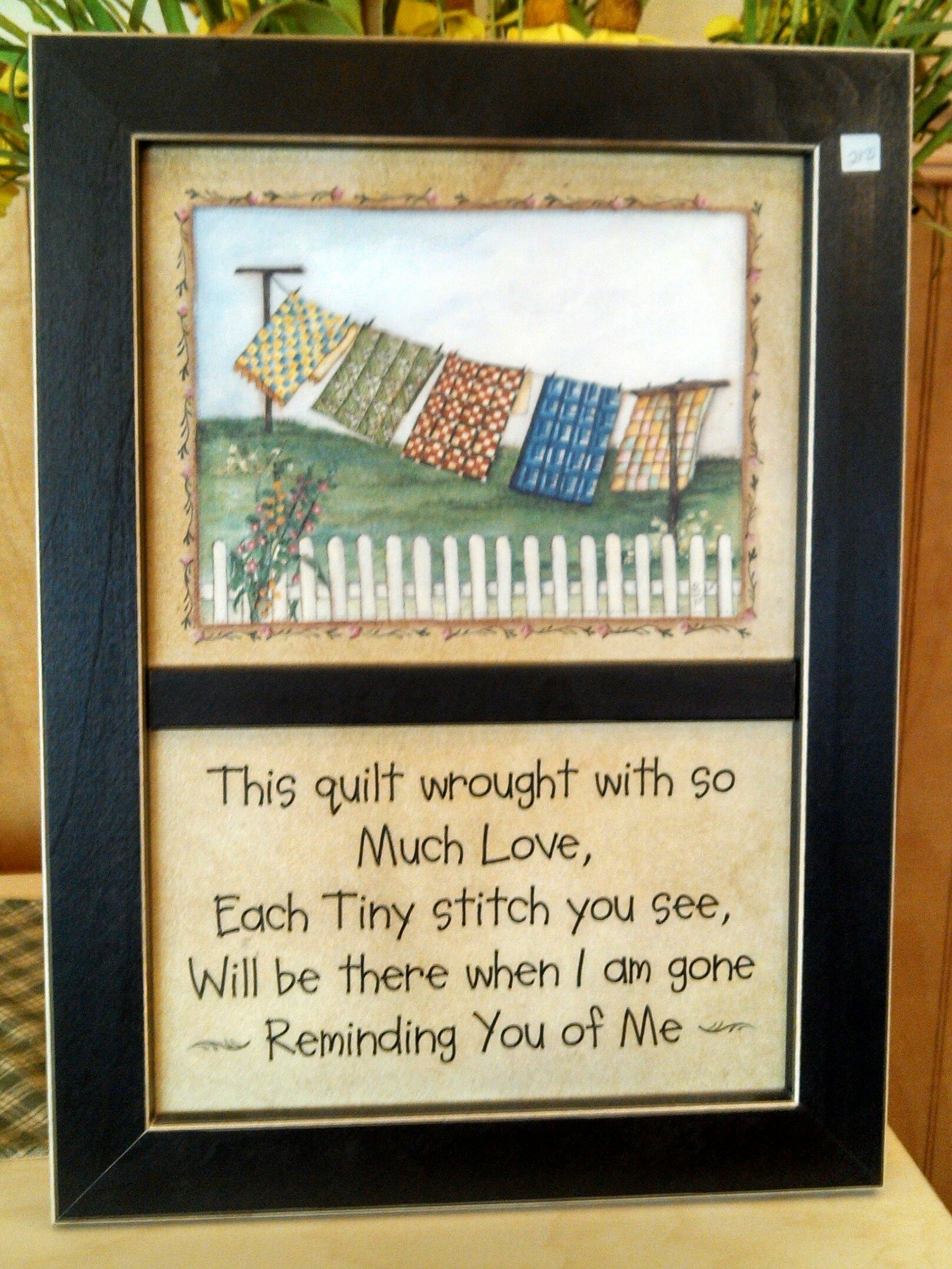 For all the quilters or people that know quilters out there ...