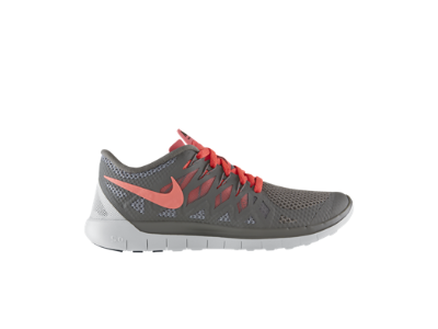 24f046768ca5 Nike Free 5.0 Women s Running Shoe size  9.5 color  light ash wolf  grey summit white hyper punch