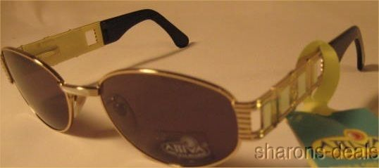 Sunglasses Attiva Melanin Dierre 66 537 Italy Silver Case Mens Women Nose Pads #AttivaDierre #Designer