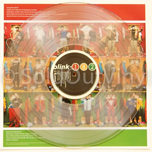 Blink 182 Take Off Your Pants And Jacket Vinyl Clear Lps With Colored 7 S Soldoutvinyl Blink 182 Blink 182 Albums Vinyl