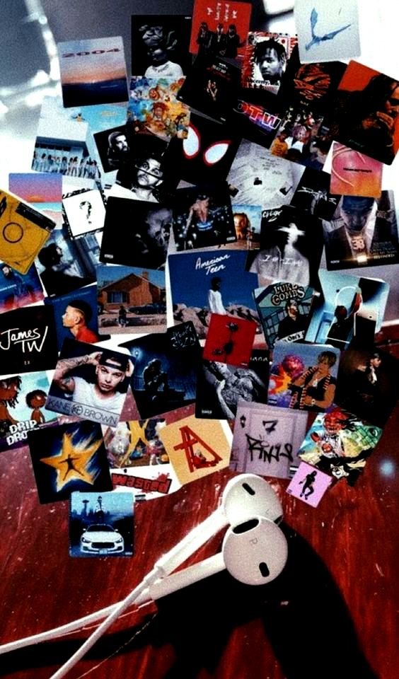 Photo Wall Collage Bedroom Album Covers