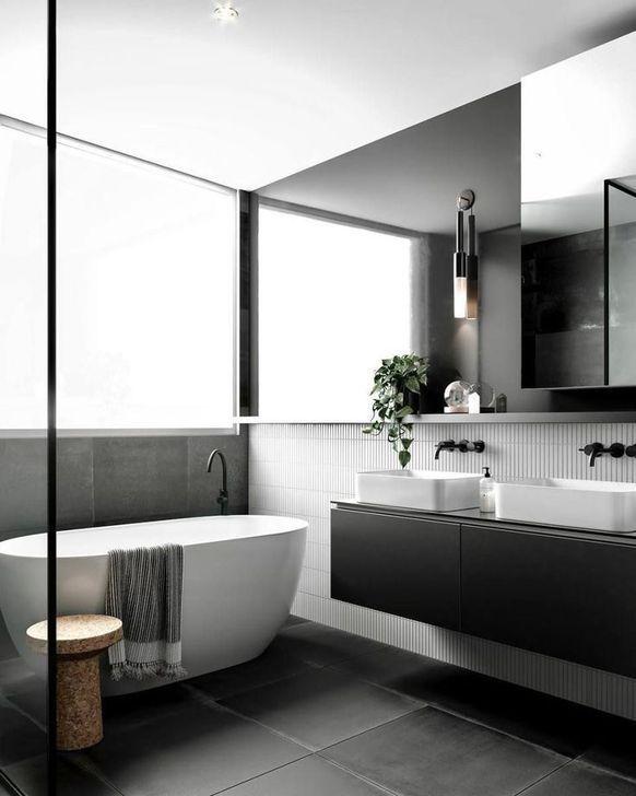 Photo of 99 magnifiche idee di design per il bagno scandinavo che sembrano belle