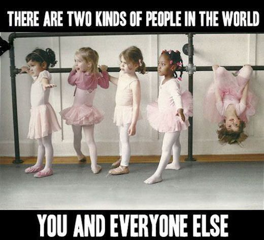 There Are Two Kinds Of People In This World funny quotes quote kids people lol funny quote funny quotes humor